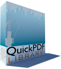 Quick PDF Library(c) is a royalty-free PDF API/SDK (beta)